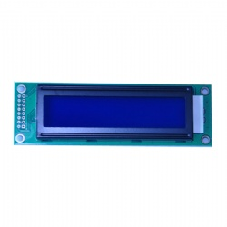 16x1 Character LCD Display