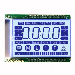 Custom Size LCD Screen 7 Segment LCD Display Module