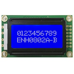 8x2 Parallel Character LCD