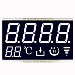 VA Transmissive Segment LCD Display with Back Light